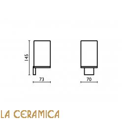 Cтакан для зубных щёток Bagno&Associati Altissima AT142
