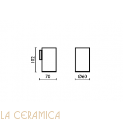 Cтакан для зубных щёток Bagno&Associati Ambiente AM144