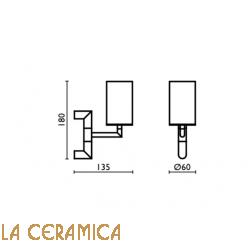 Cтакан для зубных щёток Bagno&Associati Ambiente AM145
