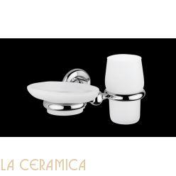 Cтакан для зубных щёток + мыльница Bagno&Associati Grand Hotel GH144