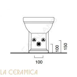 Биде Catalano Canova Royal 1BICR00