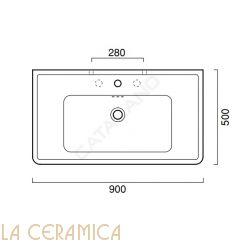 Умывальник Catalano Canova Royal 190CV00