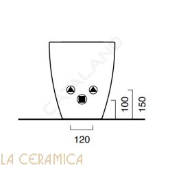 Биде Catalano Sfera 1BIC5200