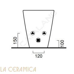 Биде Catalano Zero 1BI5500