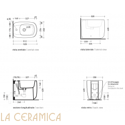 Биде Flaminia Mono MN217