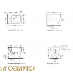 Биде Flaminia Terra TR217
