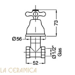 Запорный вентиль GAIA Newport RB060