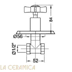 Запорный вентиль GAIA Victoria RN560