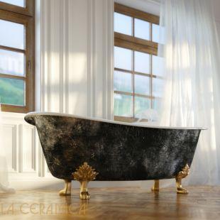 Ванна чугунная GAIA Dual (снаружи покрыта фольгой)