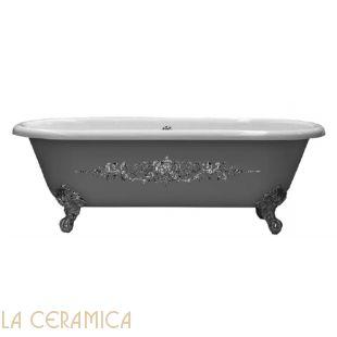 Ванна чугунная GAIA Dual (декорированная)