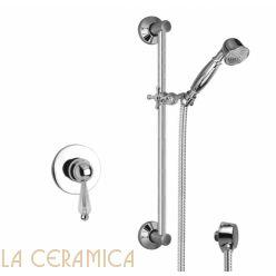 Душевой гарнитур Giulini Harmony Crystal 9515WS/S