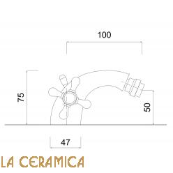 Комплект для биде Giulini Lotus SA557