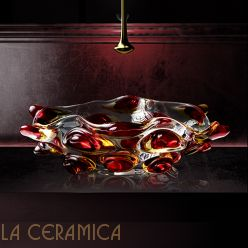 Умывальник GLASS DESIGN Arte Tre