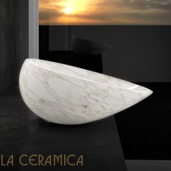 Умывальник GLASS DESIGN Air Calcatta