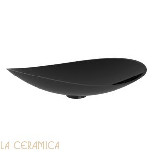 Умывальник GLASS DESIGN Infinity Colour (Black Gloss)