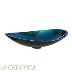 Умывальник GLASS DESIGN Infinity Starlight (Blue-Green)