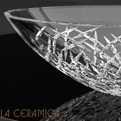 Умывальник GLASS DESIGN Ice Oval (Bluemarine/Chrome)
