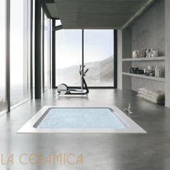Ванна Built-in/Free-standing HAFRO GEROMIN Bolla Q Infinity (квадратная)