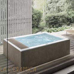 Ванна отдельностоящая HAFRO GEROMIN Minerva Indoor (прямоугольная)