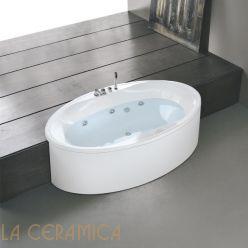 Ванна отдельностоящая HAFRO GEROMIN Zaphiro (овальная)