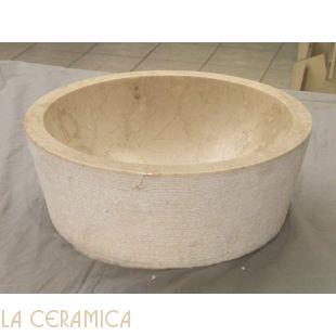 Умывальник каменный IMSO Cilindro beige