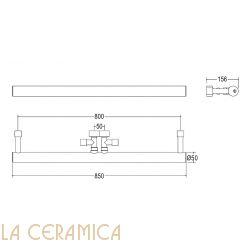 Полотенцесушитель Margaroli Arcobaleno 418