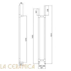 Полотенцесушитель Margaroli Arcobaleno 517 DX