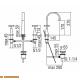 Смеситель для раковины CP212/1CR