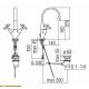Смеситель для раковины CP218/1CR
