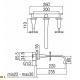 Смеситель для раковины CP298CR