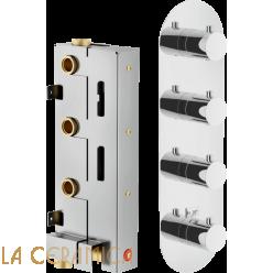 Встроенный смеситель TekNobili PLUS WE00104, PL00104CR