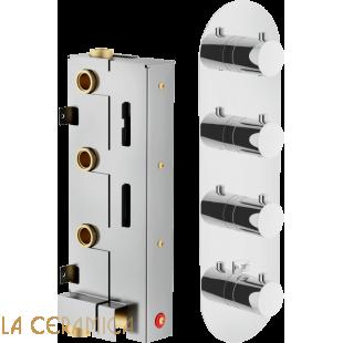 Встроенный смеситель для душа WE00104, PL00104CR