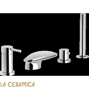 Комплект на бортик ванны WEBK110/9TCR