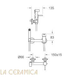 Гигиенический душ Nuova Osmo PR056-KIT15