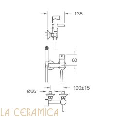Гигиенический душ Nuova Osmo PR056-KIT10