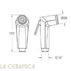 Душик гигиенический Nuova Osmo DS018