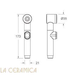 Душик гигиенический Nuova Osmo DS005