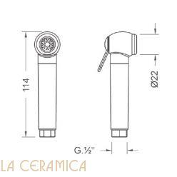 Душик гигиенический Nuova Osmo DS011
