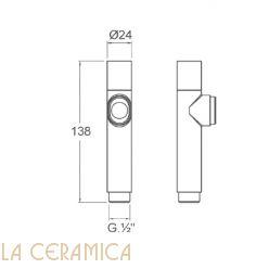 Душик гигиенический Nuova Osmo DS022