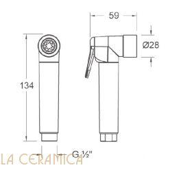 Душик гигиенический Nuova Osmo DS008