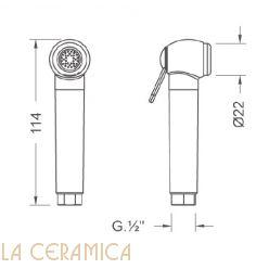 Душик гигиенический Nuova Osmo DS024