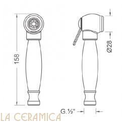 Душик гигиенический Nuova Osmo DS012