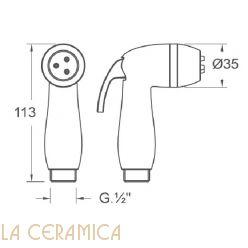Душик гигиенический Nuova Osmo DI001