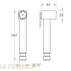 Душик гигиенический Nuova Osmo DS009-01