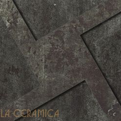Керамогранит Apavisa Alchemy 7.0 (60*60) Black Decor Ramp