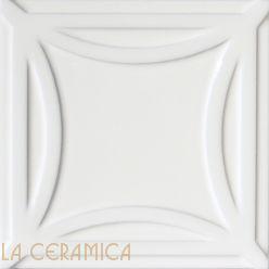 Керамическая плитка Decoratori Bassanesi AGATHA (15*15) White
