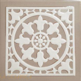 Керамическая плитка Decoratori Bassanesi ATELIER (15*15) Dark Ivory