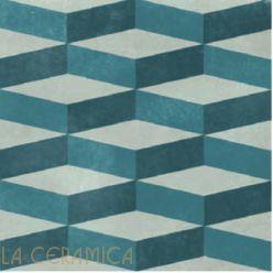 Керамическая плитка Mutina AZULEJ (20*20) Cubo Grigio