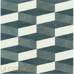 Керамическая плитка Mutina AZULEJ (20*20) Cubo Nero
