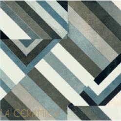 Керамическая плитка Mutina AZULEJ (20*20) Prata Nero